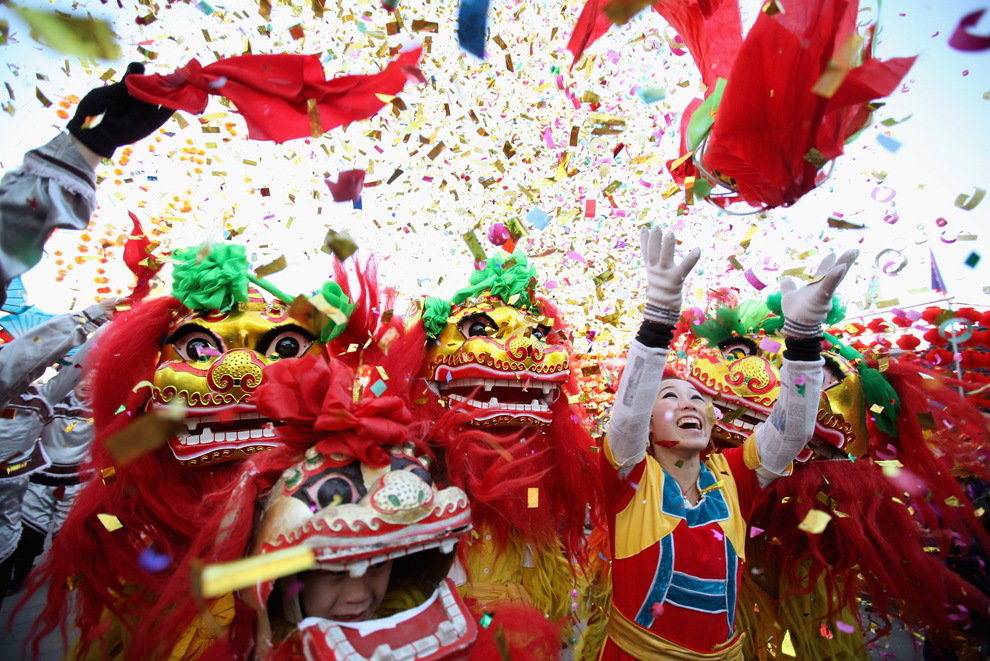 Tet Lunar New Year celebration