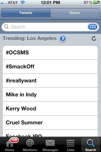 The hashtag for Orange County Social Media Summit or #OCsms was the No. 1 trending topic on Twitter on the same day as the Facebook IPO, beating that hashtag in Southern California.