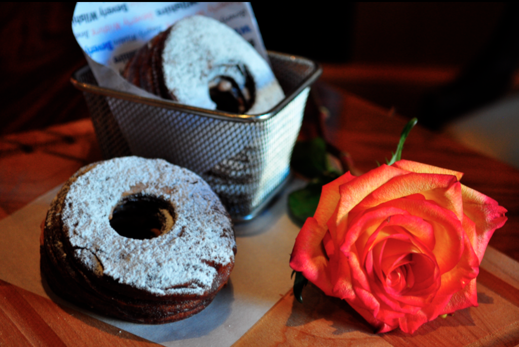 A rose or desert by any other name is a cronet -- a cross between a croissant and a beignet.