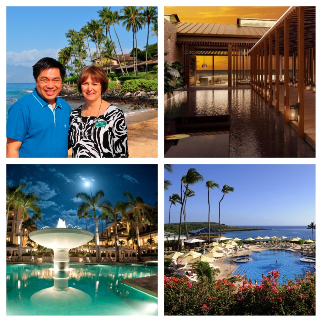 Paradise is found at the Napali Kai, Andaz Maui, Four Seasons Maui and Four Seasons Lanai.