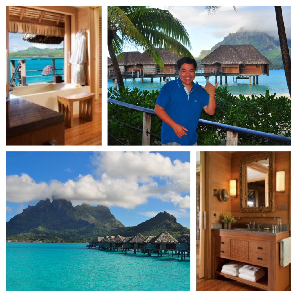 Built on stilts over the turquoise lagoon, the overwater bungalow at the Four Seasons Bora Bora offers luxury and tranquility but best of all -- your own lagoon.