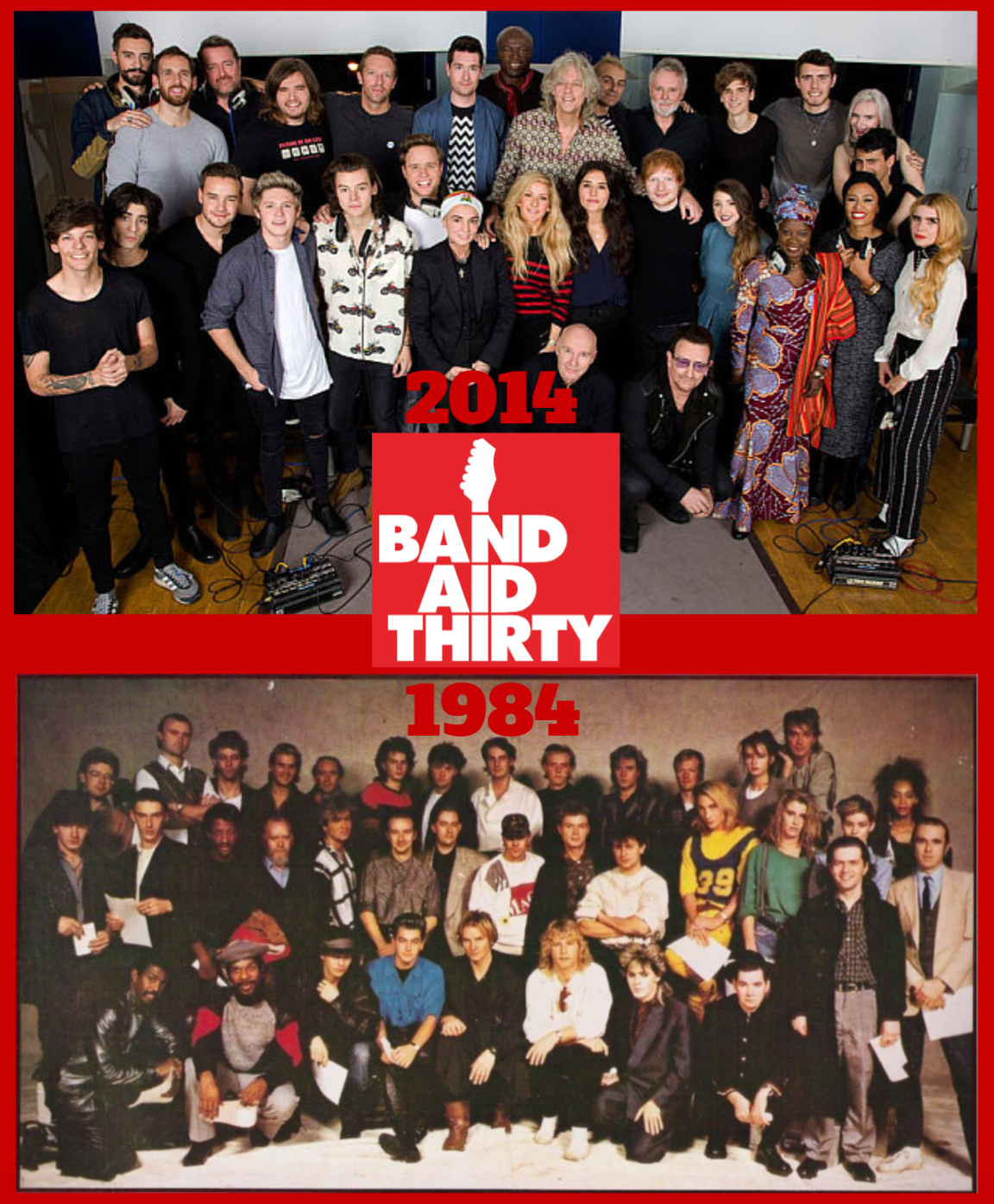 Band Aid 30 years later: 'Do They Know It's Christmas?' | Ted ...
