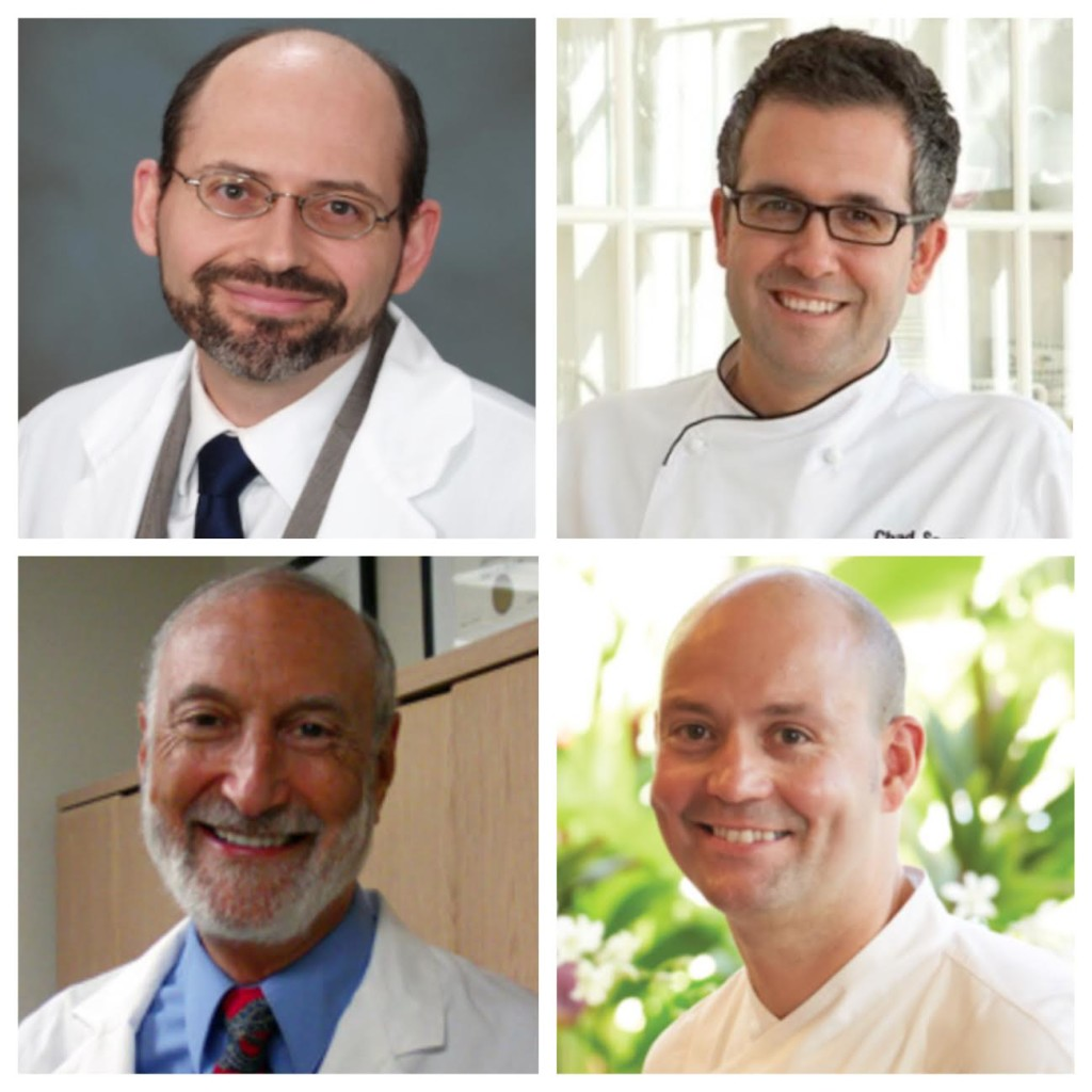 Dr. Michael Greger, Chef Chad Sarno, Dr. Michael Klaper and Chef Craig Dryhurt will join Dr. Mark Emerson to provide expert consultation during the six-day wellness retreat May 20 to May 26 at the Four Seasons Maui.